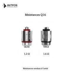 Résistances Q16 - JustFog