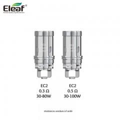 Kit iKuu i80 - Eleaf resistances samourai steam