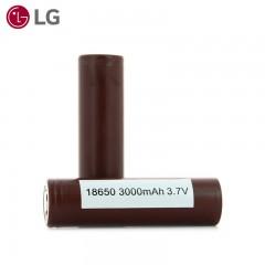 2 Accus 18650 - 3000mAh - LG