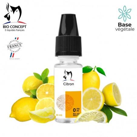E liquide Citron Bioconcept