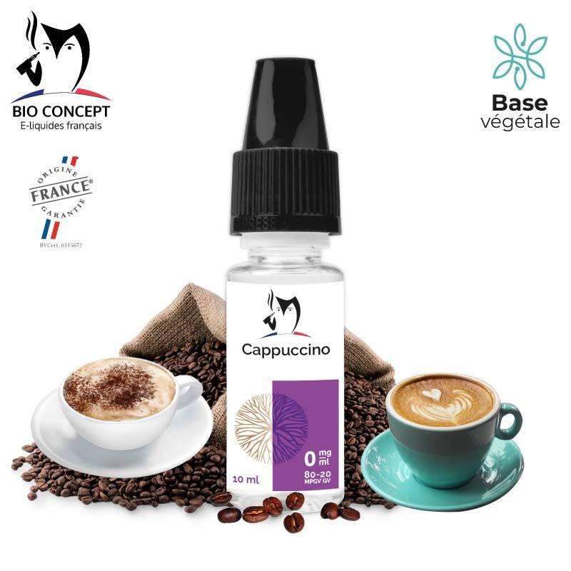 E liquide Cappuccino Bioconcept