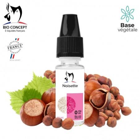 E liquide Noisette Bioconcept