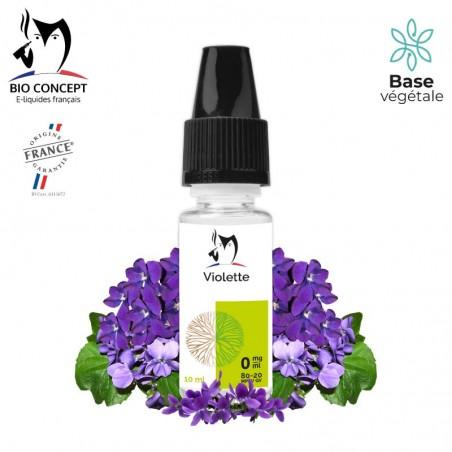 E liquide Violette Bioconcept