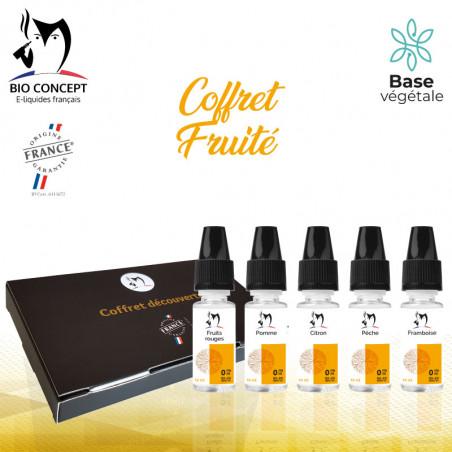 Coffret eliquides Fruités Bioconcept