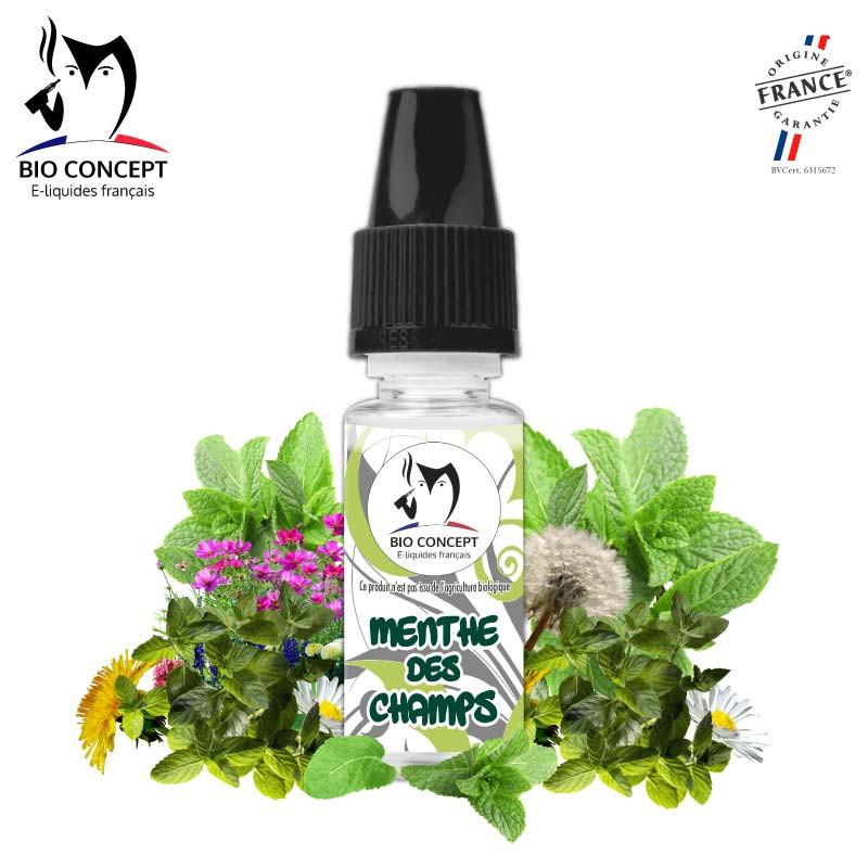 Arôme naturel goût Menthe des champs e-liquide DIY Bioconcept
