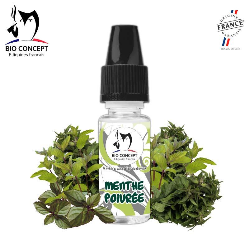 Arôme naturel goût Menthe poivrée e-liquide DIY Bioconcept