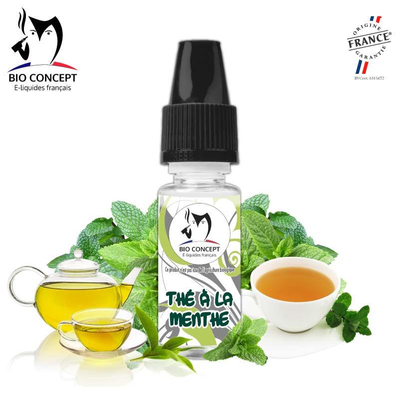 Arôme goût Thé à la Menthe e-liquide DIY Bioconcept