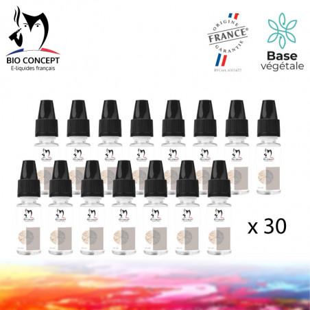 Lot de 30 e-liquides BioConcept