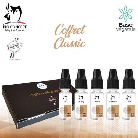 Coffret eliquides Classic Bioconcept
