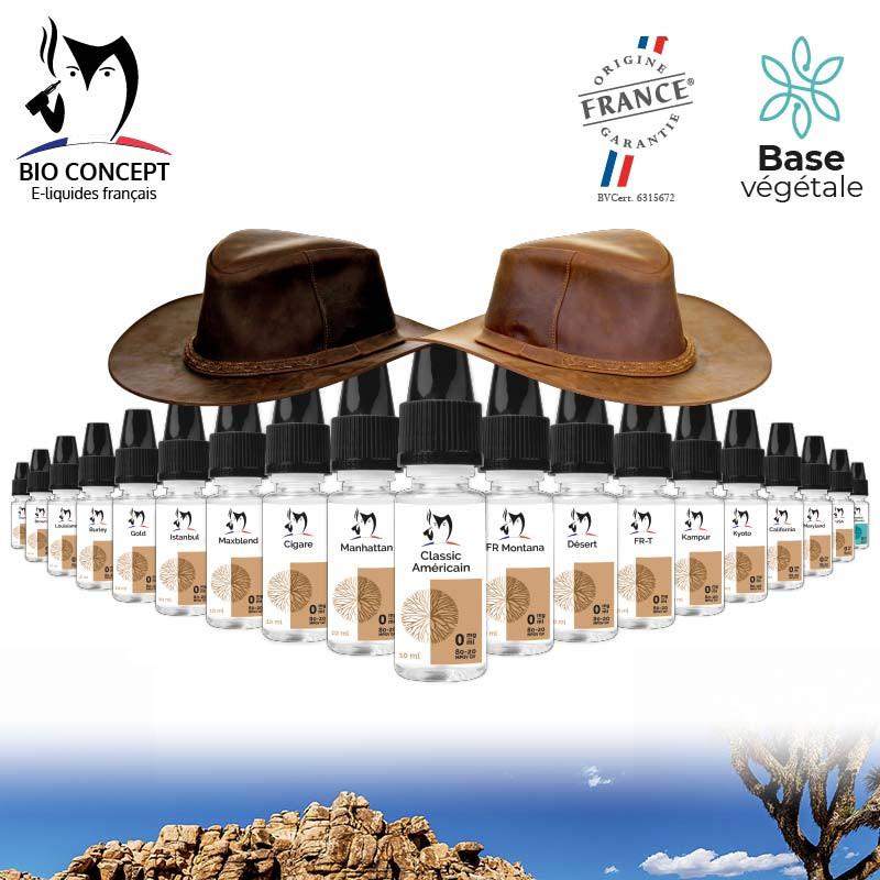 Pack découverte e liquides classic Bioconcept