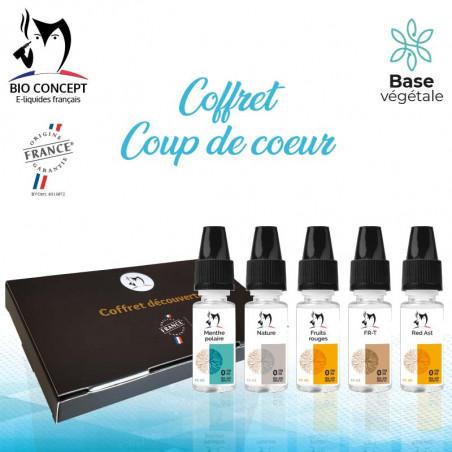 Coffret eliquides Coup de coeur Bioconcept