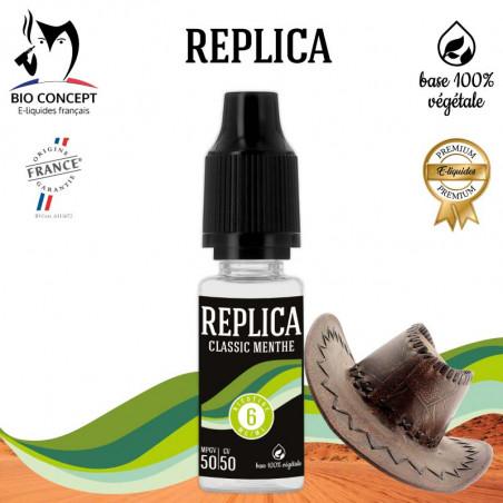 E liquide Classic Menthe Replica Bioconcept
