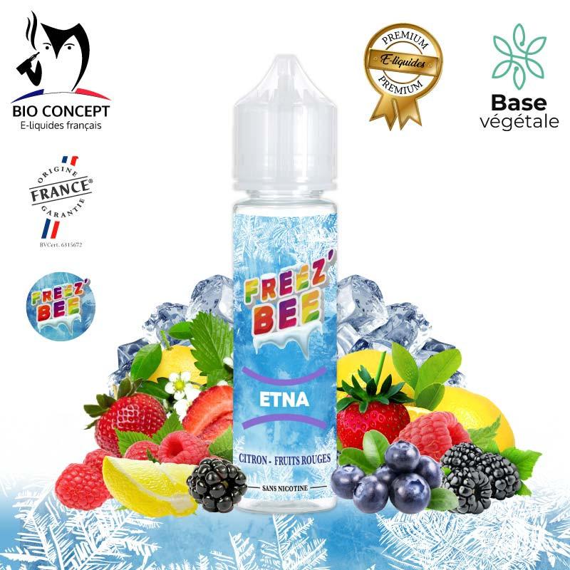 E liquide Premium Etna Freez'Bee BioConcept