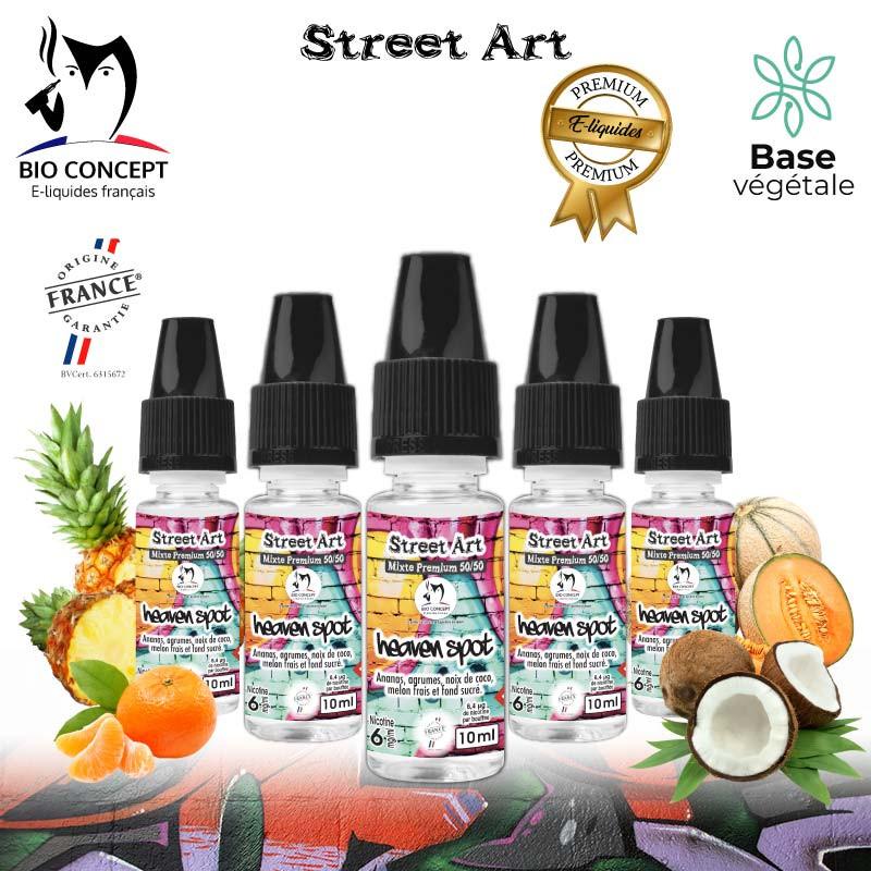 E liquide premium street art heaven spot Bioconcept
