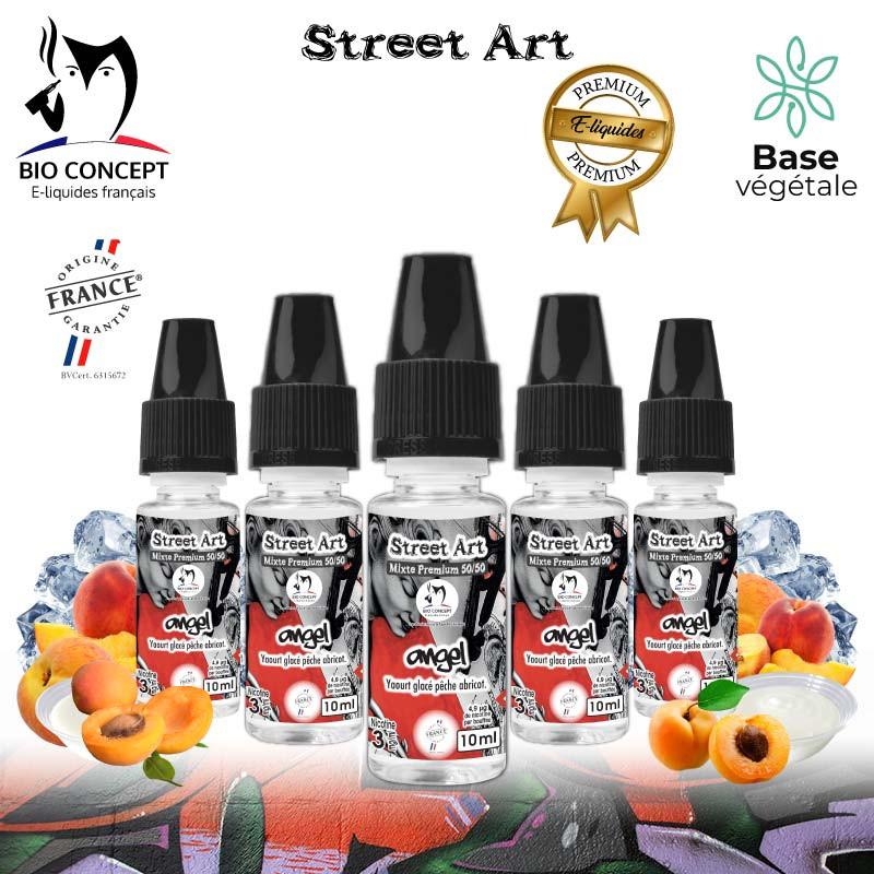 E liquide premium street art angel Bioconcept