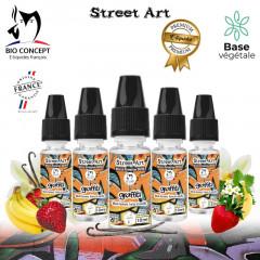 E liquide premium street art graffiti Bioconcept