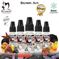 E liquide premium street art urban life Bioconcept