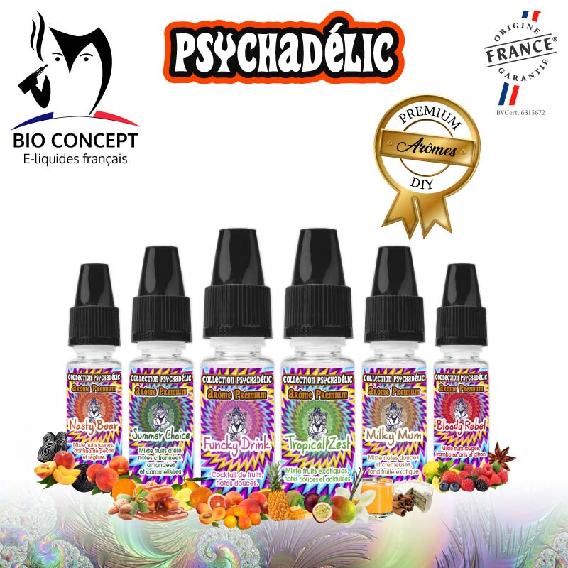 Arome Psychadelic Gamme Complète width=