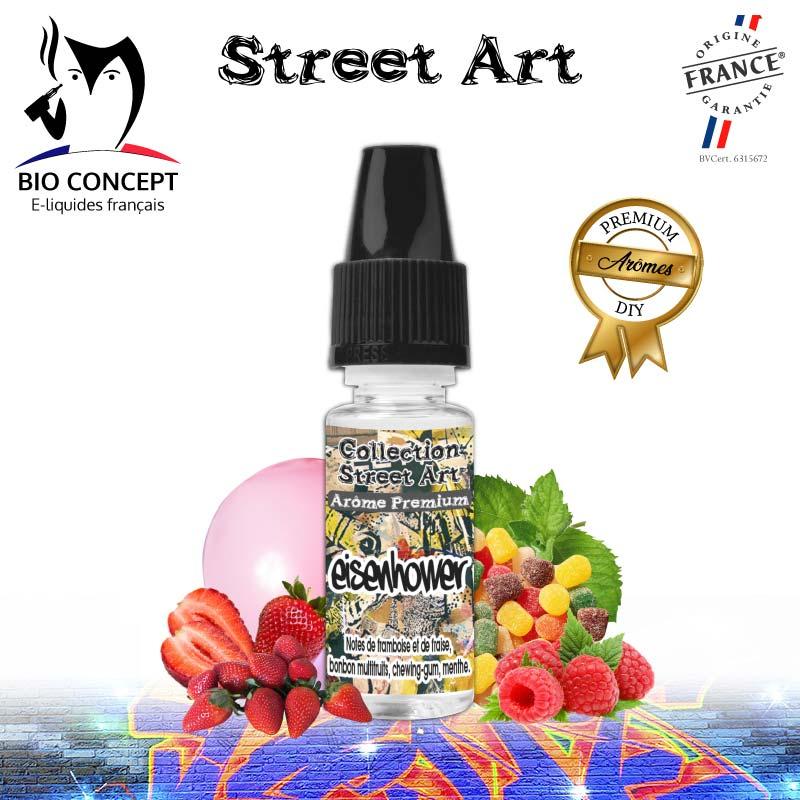 Arome Street Art Eisenhower