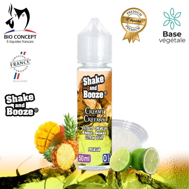 E-liquide Creamy creek Shake and Booze