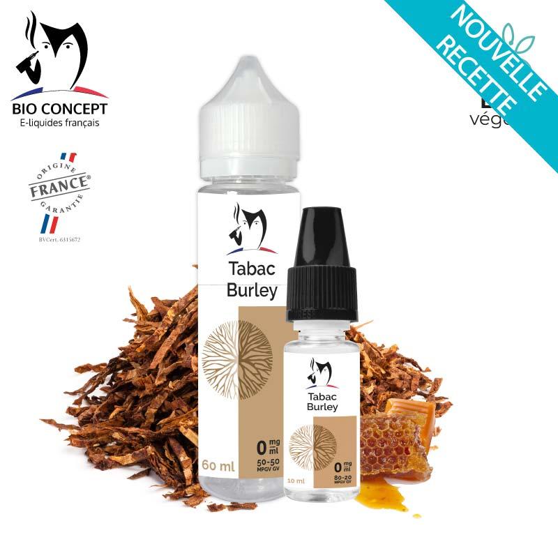 E-liquide Tabac Burley