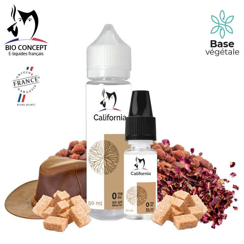 E-liquide Tabac California