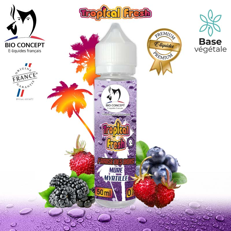 E-liquide Tropical Fresh 2