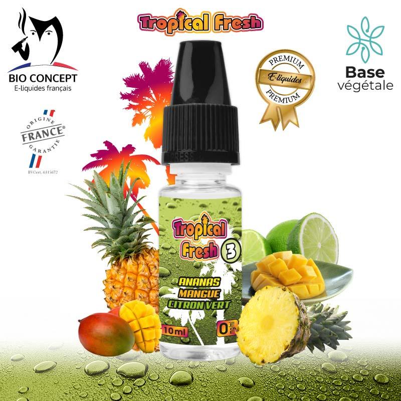 E-liquide Tropical Fresh 3