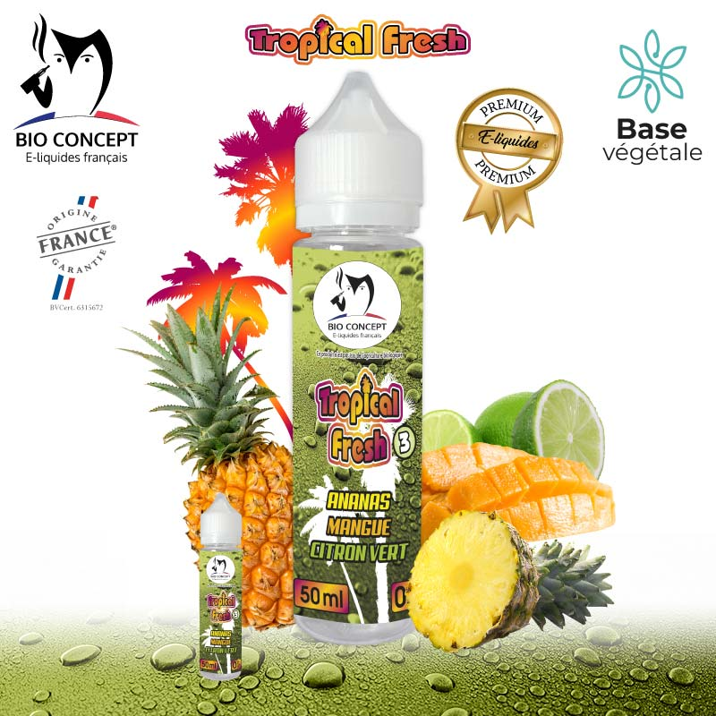 E-liquide Tropical Fresh 3