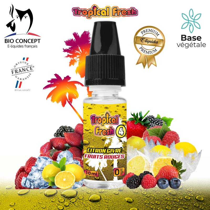 E-liquide Tropical Fresh 4
