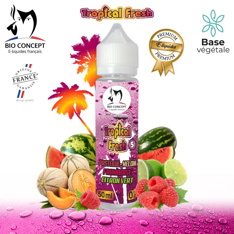 E-liquide Tropical Fresh 5