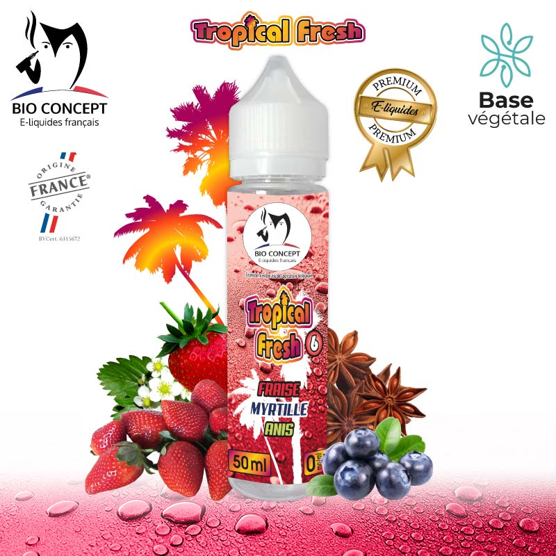 E-liquide Tropical Fresh 6