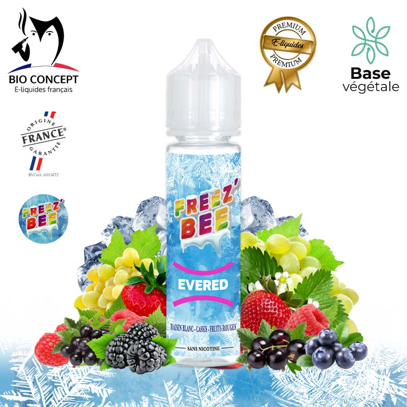 E-liquide Evered Freez'Bee
