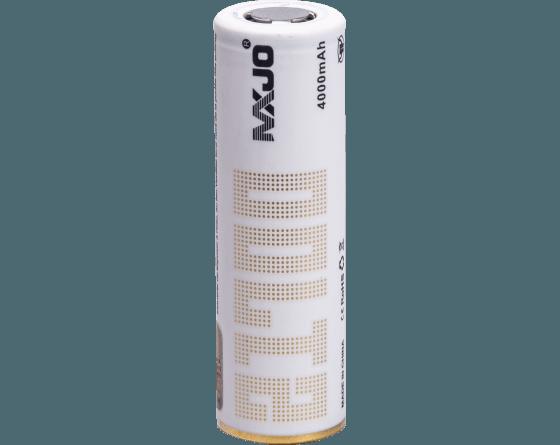 Accu 21700 - 4000 mAh - 3,7V - MXJO pour mod / box e-cigarettes