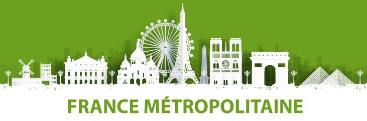 Livraisons en France Métropolitaine